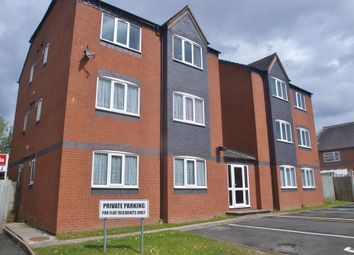 Thumbnail 1 bed flat to rent in Old Port Close, Tipton