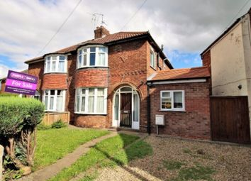 Thumbnail 3 bed semi-detached house for sale in Hull Road, York