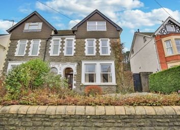 Thumbnail 6 bed semi-detached house for sale in St. Martins Road, Caerphilly