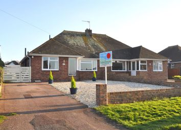 Thumbnail 2 bed semi-detached bungalow for sale in Huggetts Lane, Willingdon, Eastbourne