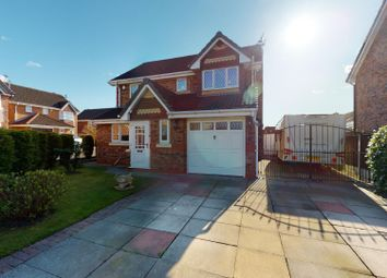 Thumbnail 4 bed detached house for sale in Chisledon Close, Haydock, St. Helens