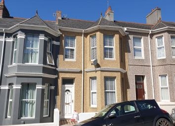 Thumbnail 3 bed terraced house for sale in Rosebery Avenue, Plymouth