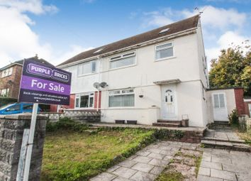 Thumbnail 3 bed semi-detached house for sale in Goodwick Road, Rumney