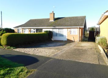Thumbnail 1 bed semi-detached bungalow for sale in Elm Crescent, Burgh Le Marsh, Skegness