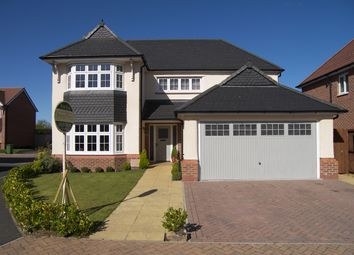 Thumbnail 4 bed detached house for sale in Church View Fold, Wrea Green, Preston