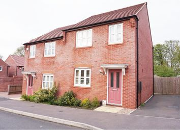 Thumbnail 3 bed semi-detached house for sale in Debdale Way, Mansfield