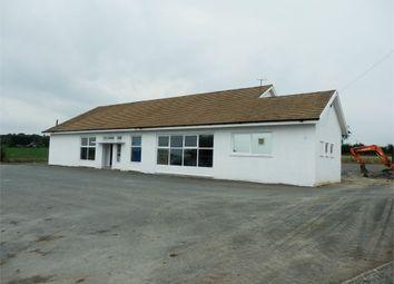 Thumbnail Commercial property for sale in Yr Hen Ysgol, Blaenporth, Cardigan, Ceredigion