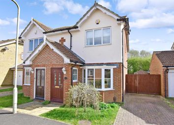 Thumbnail 2 bed semi-detached house for sale in Manor House Drive, Kingsnorth, Ashford, Kent