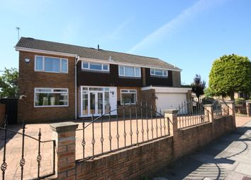 Thumbnail 5 bed detached house for sale in Hall Drive, Middlesbrough