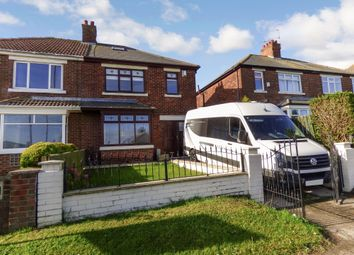 Thumbnail 3 bed semi-detached house for sale in Leaholme Terrace, Blackhall Colliery, Hartlepool