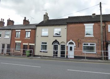 Thumbnail 3 bed terraced house to rent in Longton Road, Stone