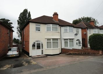 Thumbnail 3 bedroom semi-detached house to rent in Tyseley Lane, Tyseley, Birmingham