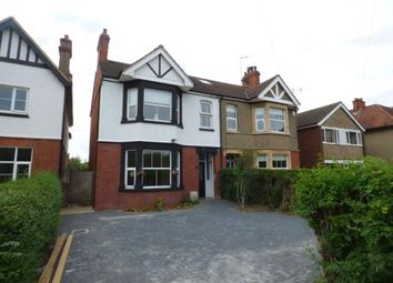 Thumbnail 3 bedroom semi-detached house for sale in Hill View, Newport Pagnell, Milton Keynes, Bucks