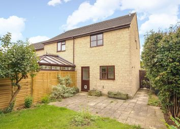 Thumbnail 2 bed semi-detached house to rent in Hill View, Carterton