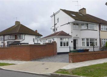 Thumbnail 4 bed semi-detached house for sale in Mountbel Road, Stanmore, Middlesex