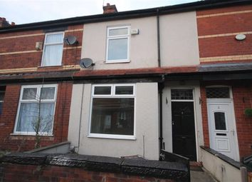 Thumbnail 2 bed terraced house to rent in Lostock Avenue, Levenshulme, Manchester