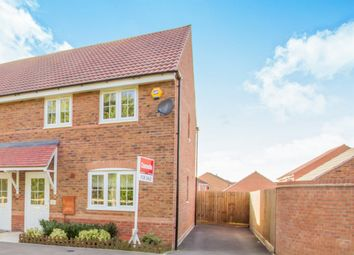 Thumbnail 3 bedroom semi-detached house for sale in Windlass Drive, Wigston, Leicester
