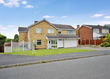 Thumbnail 5 bedroom link-detached house for sale in Coverside Road, Great Glen, Leicester