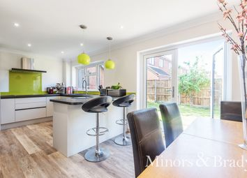 Thumbnail 3 bed detached house for sale in The Common, Freethorpe, Norwich