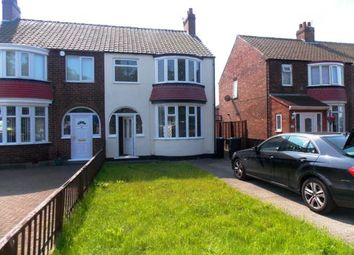 Thumbnail 3 bedroom semi-detached house for sale in Irvine Road, Middlesbrough