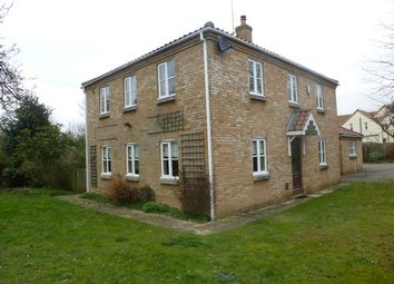 Thumbnail 4 bed detached house to rent in Lynn Road, Gayton