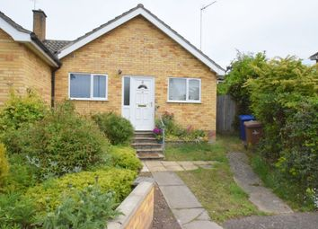 Thumbnail 2 bed semi-detached bungalow for sale in Abbot Close, Bury St. Edmunds