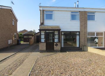 Thumbnail 3 bedroom semi-detached house for sale in Downfield Avenue, Hull, East Yorkshire