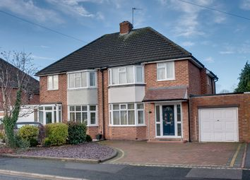 Thumbnail 3 bed semi-detached house for sale in Brueton Avenue, Aston Fields, Bromsgrove