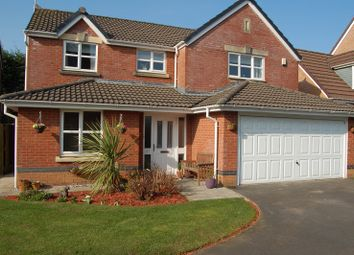 Thumbnail 4 bed detached house for sale in Pasture Drive, Garstang, Lancashire