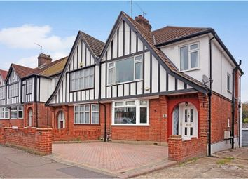 Thumbnail 3 bed semi-detached house for sale in St. Anthonys Avenue, Woodford Green