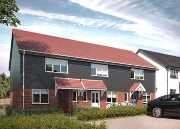 Thumbnail 2 bed semi-detached house for sale in Clarkes Lane, Wilburton, Ely, Cambridgeshire