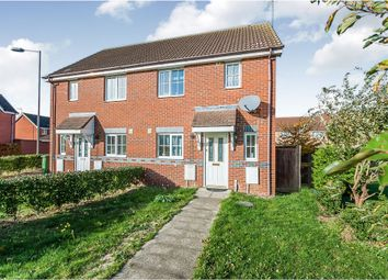 Thumbnail 3 bed semi-detached house for sale in Daimler Avenue, Yaxley, Peterborough