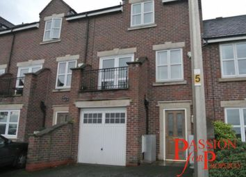 Thumbnail 4 bed town house to rent in Boughton Hall Avenue, Chester, Cheshire