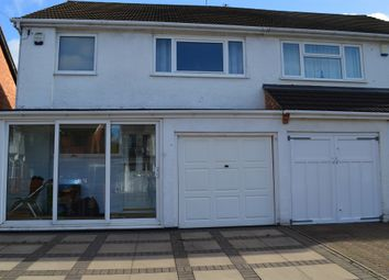 Thumbnail 3 bed semi-detached house for sale in Conway Crescent, Willenhall