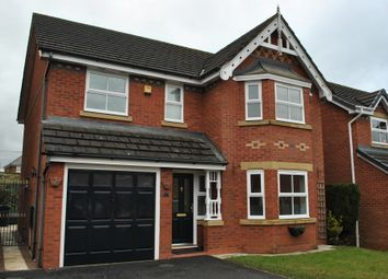 Thumbnail 4 bed detached house to rent in Cholmondeley Rise, Nomansheath, Malpas, Cheshire