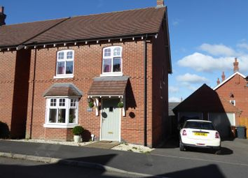 Thumbnail 4 bed detached house for sale in Ashford Way, Church Gresley