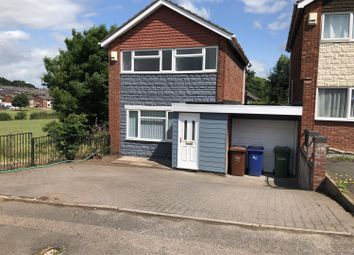 Thumbnail 3 bed link-detached house to rent in Burnfield Drive, Rugeley