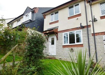 Thumbnail 3 bed semi-detached house to rent in Pound Park, Okehampton, Devon