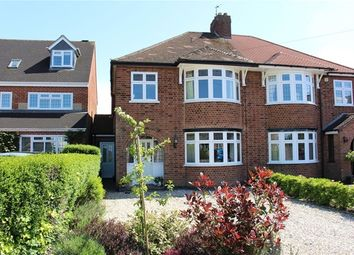 Thumbnail 3 bed semi-detached house for sale in Leicester Road, Hinckley