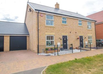 Thumbnail 3 bed semi-detached house for sale in Lancaster Approach, Colchester