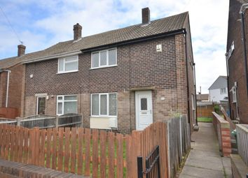 Thumbnail 2 bed semi-detached house to rent in Woodside, Castleford