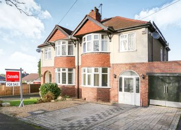 Thumbnail 3 bed semi-detached house for sale in Links Road, Penn, Wolverhampton