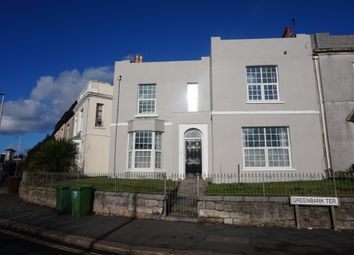 Thumbnail 6 bedroom end terrace house for sale in Greenbank Terrace, Greenbank, Plymouth