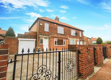Thumbnail 3 bedroom semi-detached house for sale in Brookside Crescent, Newcastle Upon Tyne