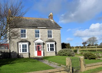 Thumbnail 5 bed detached house for sale in Townshend, Nr. Hayle