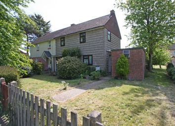 Thumbnail 3 bed semi-detached house for sale in Pilley Street, Pilley, Lymington