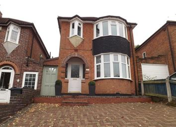 Thumbnail 3 bed detached house for sale in Upper Meadow Road, Quinton, Birmingham, West Midlands