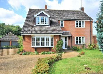 Thumbnail 4 bed detached house for sale in Malvern Close, South Wootton, King's Lynn