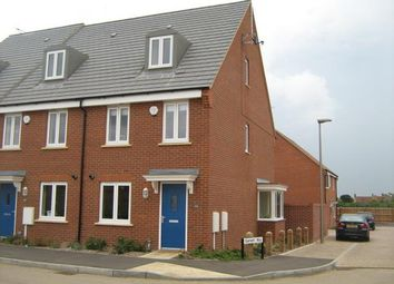 Thumbnail 3 bed semi-detached house to rent in Winchcombe Meadows, Oakridge Park, Milton Keynes
