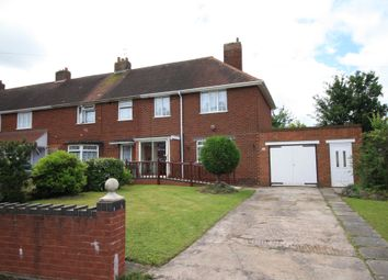 Thumbnail 3 bed end terrace house for sale in Queens Road, Rushall, Walsall